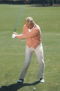 Nicklaus in downswing.